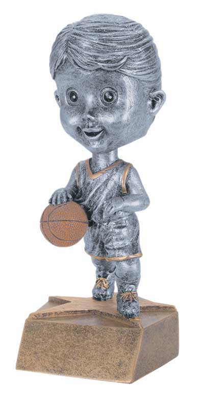 Female Basketball Bobble Head