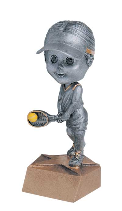 Female Tennis Bobble Head