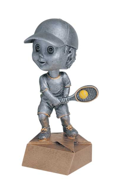 Male Tennis Bobble Head