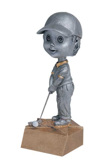 Male Golf Bobble Head
