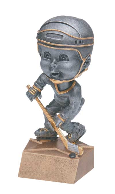 Male Hockey Bobble Head