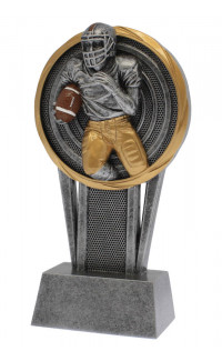 Vortex Football Trophy - 5 1/2""
