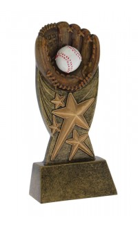 Baseball Orbit Award - 5""