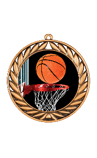 Basketball Extreme 3-D Series Medals