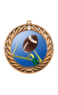 Football Extreme 3-D Sport Medal