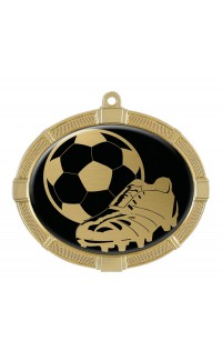 Impact Series Soccer Medals