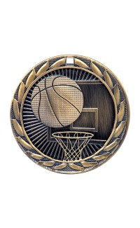 Iron Series Medals - Basketball