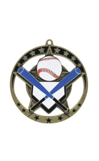 Baseball Star Series Medal