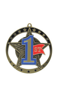 First Star Series Medal - Gold Only
