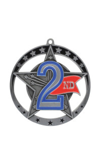 Second Star Series Medal - Silver Only