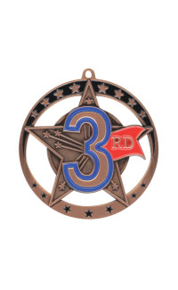 Third Star Series Medal - Bronze Only