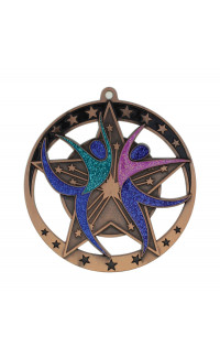 Dance Star Series Medal
