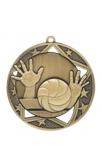 Volleyball Galaxy Series Medals