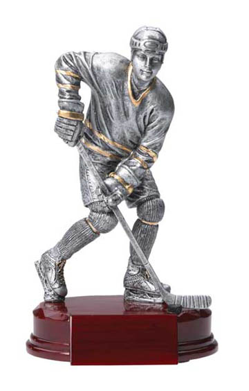 Female Hockey Deluxe Sculpture - 8""