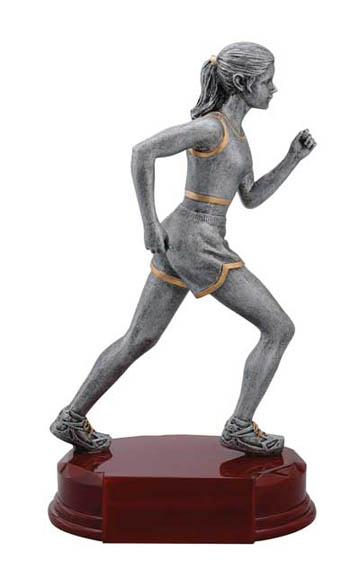 Female Track Deluxe Sculpture - 8""