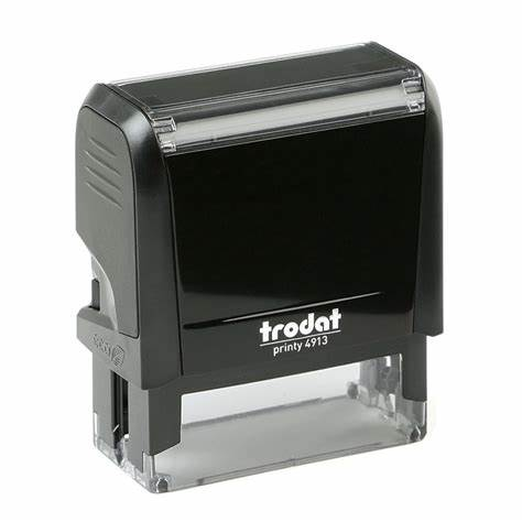 "Trodat 4913 Self-Inking Stamp (2.25"" x .875"")"
