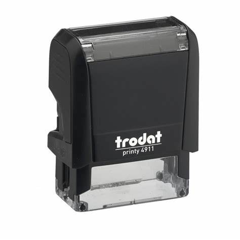 "Trodat 4911 Self-Inking Stamp (1.5"" x .5"")"