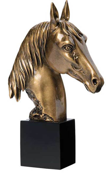 Horse Head Deluxe Sculpture - 8 1/2""