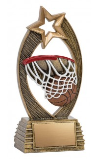 Velocity Basketball Trophy - 6""