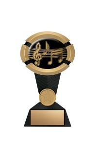 "Impact Series Music Award - 5"" Gold"