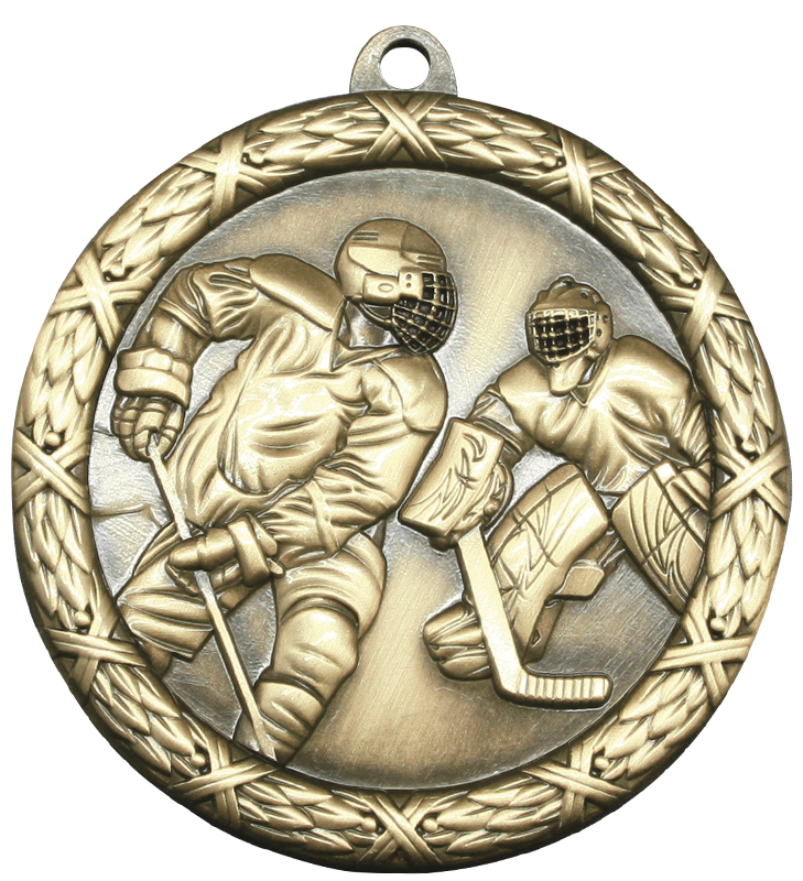 Classic Hockey Heavyweight Medal