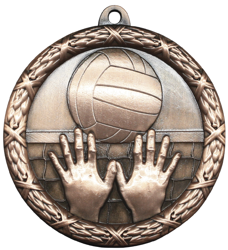 Classic Volleyball Heavyweight Medal