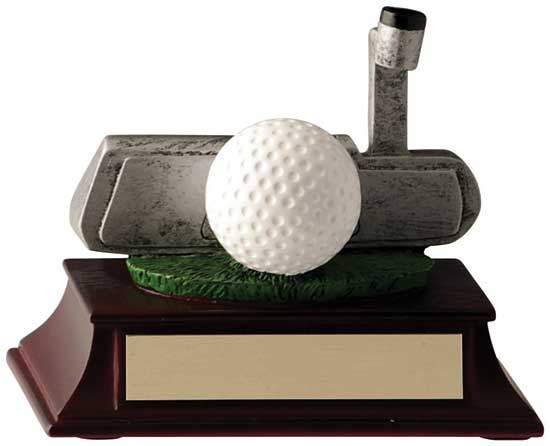 Golf Putter Award - 4""