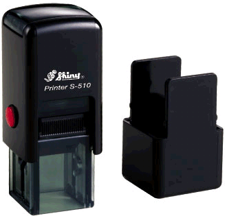 "Shiny S-510 Self-Inking Stamp (1/2"" x 1/2"")"